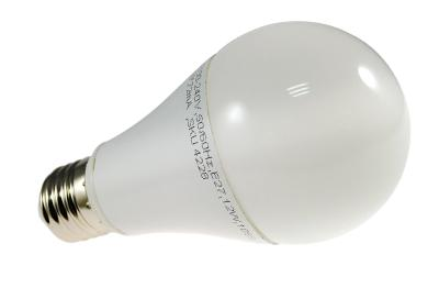 LAMPADINA LED E 27 12W BIANCO CALDO BULBO A60 DIMMERABILE