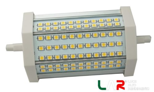 LED R7S 15W BIANCO NATURALE 4500K - 118 mm DIMMERABILE