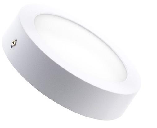 Plafoniera Led Incasso Tonda : Plafoniera led rotonda w luce naturale
